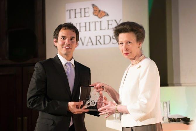 Luis Torres, Whitley Awards 2014