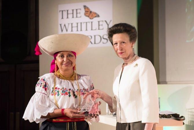 Monica Gonzalez, Whitley Awards 2014