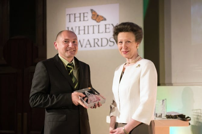 Stoycho Stoychev, Whitley Awards 2014