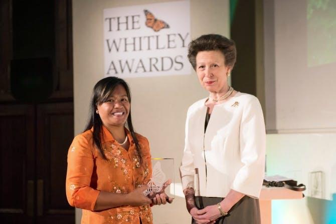 Tess Gatan Balbas, Whitley Awards 2014