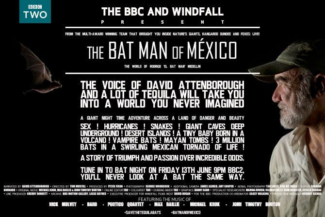 Rodrigo Medellin BBC film poster