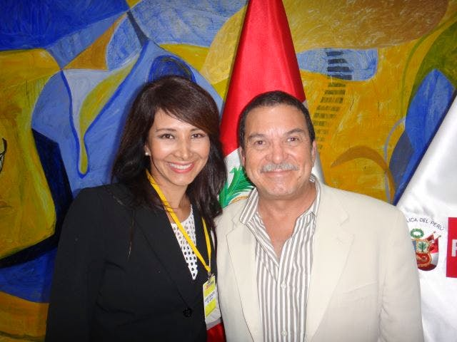Joanna Alfaro-Shigueto and Randall Arauz attend CMS COP11