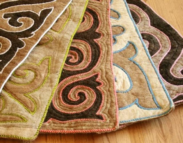 SLT Embroidered rugs