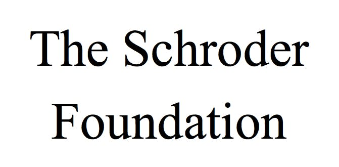 Image for The Schroder Foundation